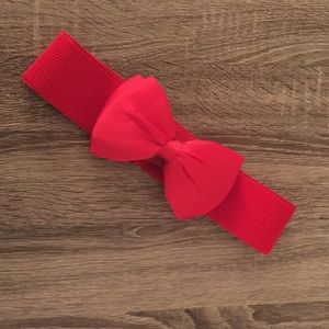 Rockabilly Bow Waist Belt